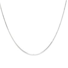 Sterling Silver Venetian Box Chain