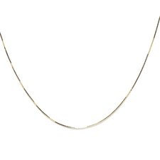14k Yellow Gold Box Chain (0.5 mm)