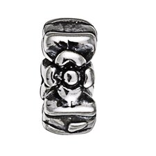 Signature Moments Sterling Silver Flower Spacer Bead