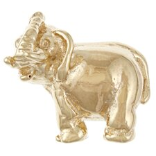 Signature Moments Gold over Silver Lucky Elephant Bead