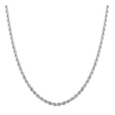 <strong>Sterling Essentials</strong> Laser Cut Chain Necklace