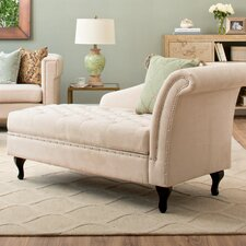 Tufted Storage Lounge