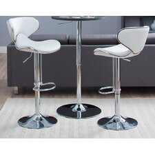 Oxbow Estate Airlift Adjustable Barstool (Set of 2)