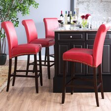 Parsons Bar Stool with Nail Heads (Set of 2)