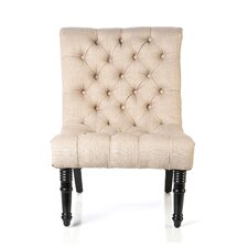 Bennington Scroll Back Tufted Chair