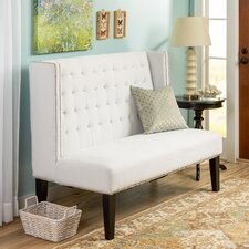 Belmont Banquette Bench with Nailhead Trim