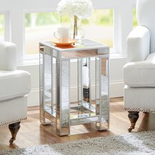 Vera Mirrored Side Table