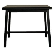 Asian Pub Table in Antique Black