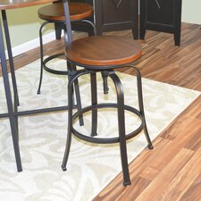 "Russell 24"" Adjustable Bar Stool"