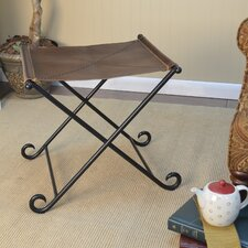 Wallace Leather Entryway Bench
