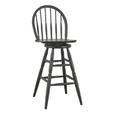 "<strong>Carolina Cottage</strong> Windsor 30"" Swivel Bar Stool"
