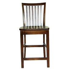 "24"" Hudson Counter Stool in Chestnut"