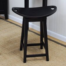 "<strong>Carolina Cottage</strong> Asheville 24"" Swivel Bar Stool"