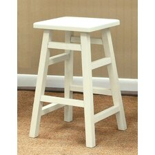 O'Malley Pub Counter Stool in Antique White