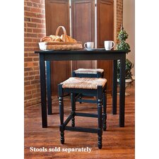 <strong>Carolina Cottage</strong> Hawthorne Counter Height Pub Table with Optional Stools