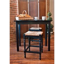 3-Piece Hawthorne Pub Set in Antique Black