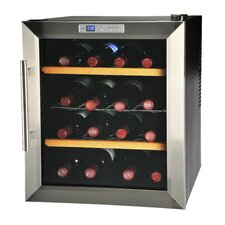16 Bottle Single Zone Thermoelectric Built-In Wine Refrigerator