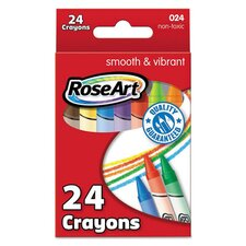 Classic Colors Crayons (Set of 24)