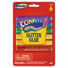 Confetti Glitter Glue Stick (6 Pack)
