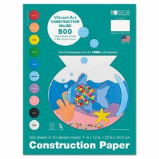 Heavyweight Construction Paper (500 Pack)