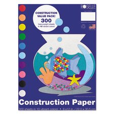 <strong>Roselle</strong> Heavyweight Construction Paper (300 Pack)
