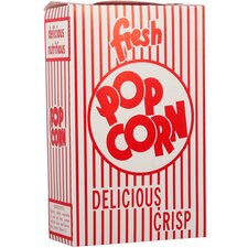 <strong>Snappy Popcorn</strong> Close-Top Popcorn Box (Set of 100)
