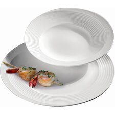 Tracce Dinner Plate with Soup Plate
