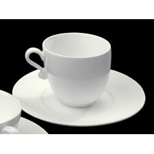 Trame Tea Cup and Saucer (Set of 2)