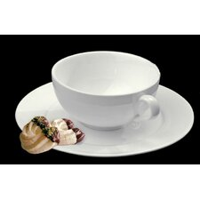 Trame Breakfast Cup and Saucer (Set of 2)