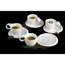 Ninfea Classic Cup with Saucer (Set of 6)