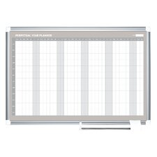 Perpetual Year Planner 3' x 4' Whiteboard