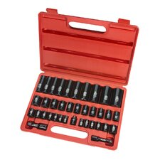 38 Piece Drive Metric Impact Socket Set