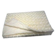 Roberto Amee Sculpted Faux Fur Blanket