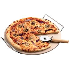 <strong>The Premium  Connection</strong> KitchenWorthy Pizza Stone Set