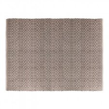 India Dark Grey/Light Grey Area Rug