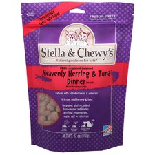 Heavenly Herring and Tuna Freeze Dried Dinner Cat Treat (12 oz)