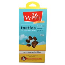 6-oz. Tastie Bites Wisconsin Cheddar - Bite Sized Baked Dog Treat