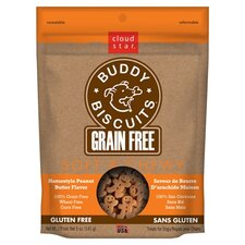 Buddy Biscuits Grain Free Soft & Chewy Slow Home Style Peanut Butter Chicken Flavored Dog Treat
