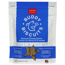 Buddy Biscuits Bacon and Cheese Flavor Soft & Chewy Dog Treat