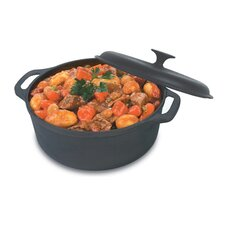 5-Qt. Cast Iron Round Dutch Oven with Lid