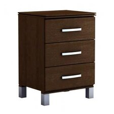 Cranbrook 3 Drawer Nightstand