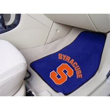 <strong>FANMATS</strong> NCAA 2 Piece Novelty Car Mats