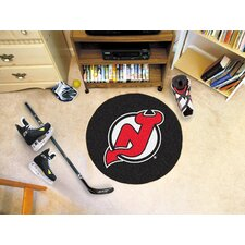 NHL Novelty Hockey Puck Mat