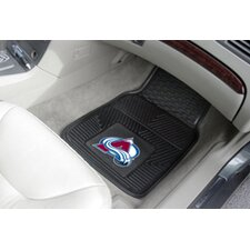 <strong>FANMATS</strong> NHL 2 Piece Novelty Carpeted Car Mats