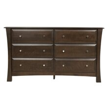 <strong>Kidz Decoeur</strong> Kenora 6 Drawer Dresser