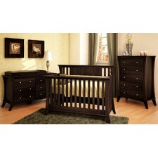 Long Beach 3-in-1 Convertible Nursery Set
