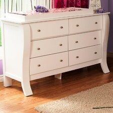 Augusta 6 Drawer Dresser