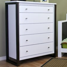 <strong>Kidz Decoeur</strong> Greenwich 5 Drawer Chest