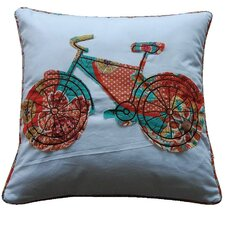 Zanzibar Bicycle Feather Pillow