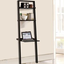 """67.88"""" Wall Leaning Bookcase"""